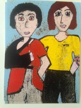 Lois Trader & her mom